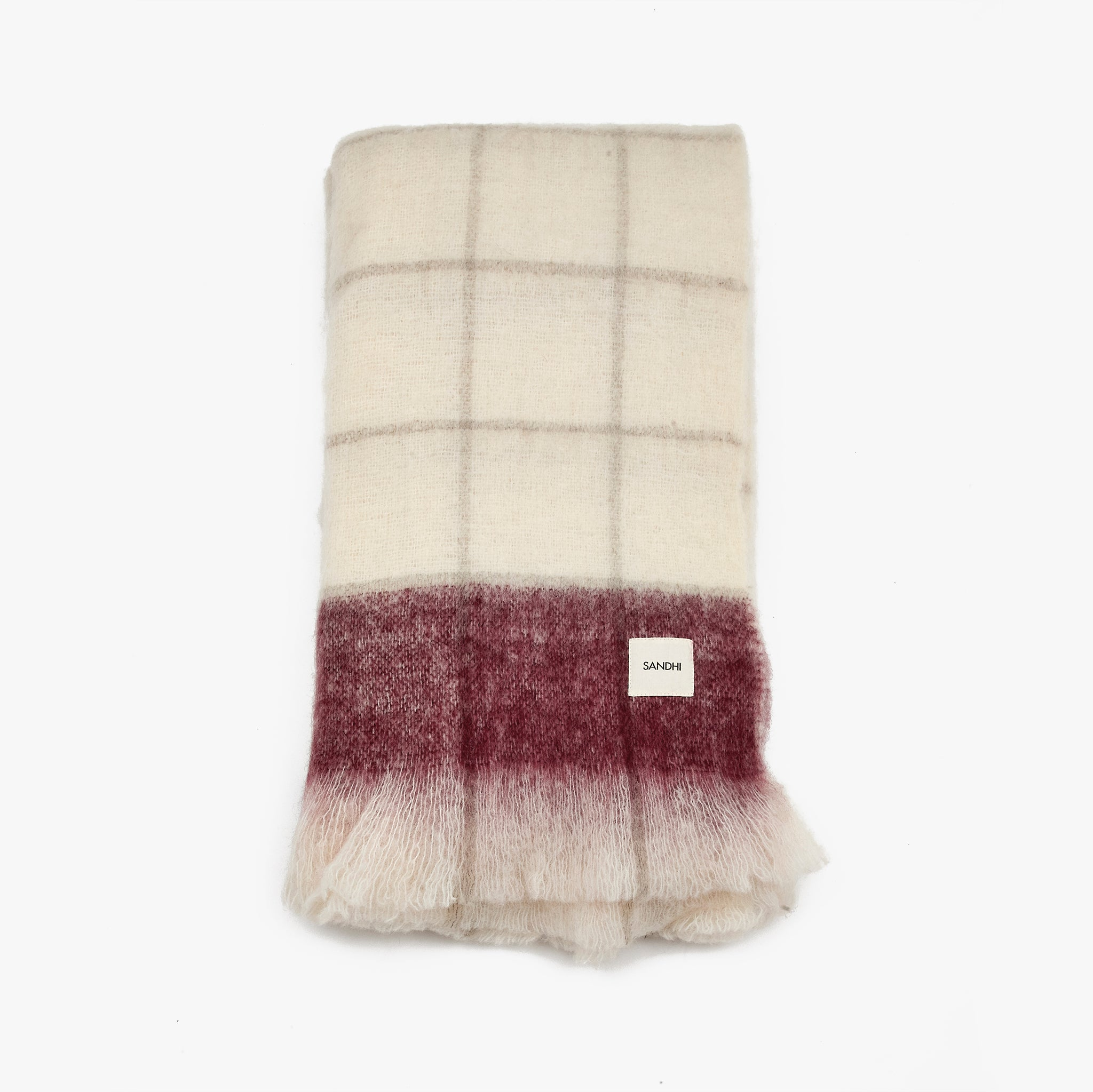 Pure Wool Sofa Throw Blanket | Sandhi