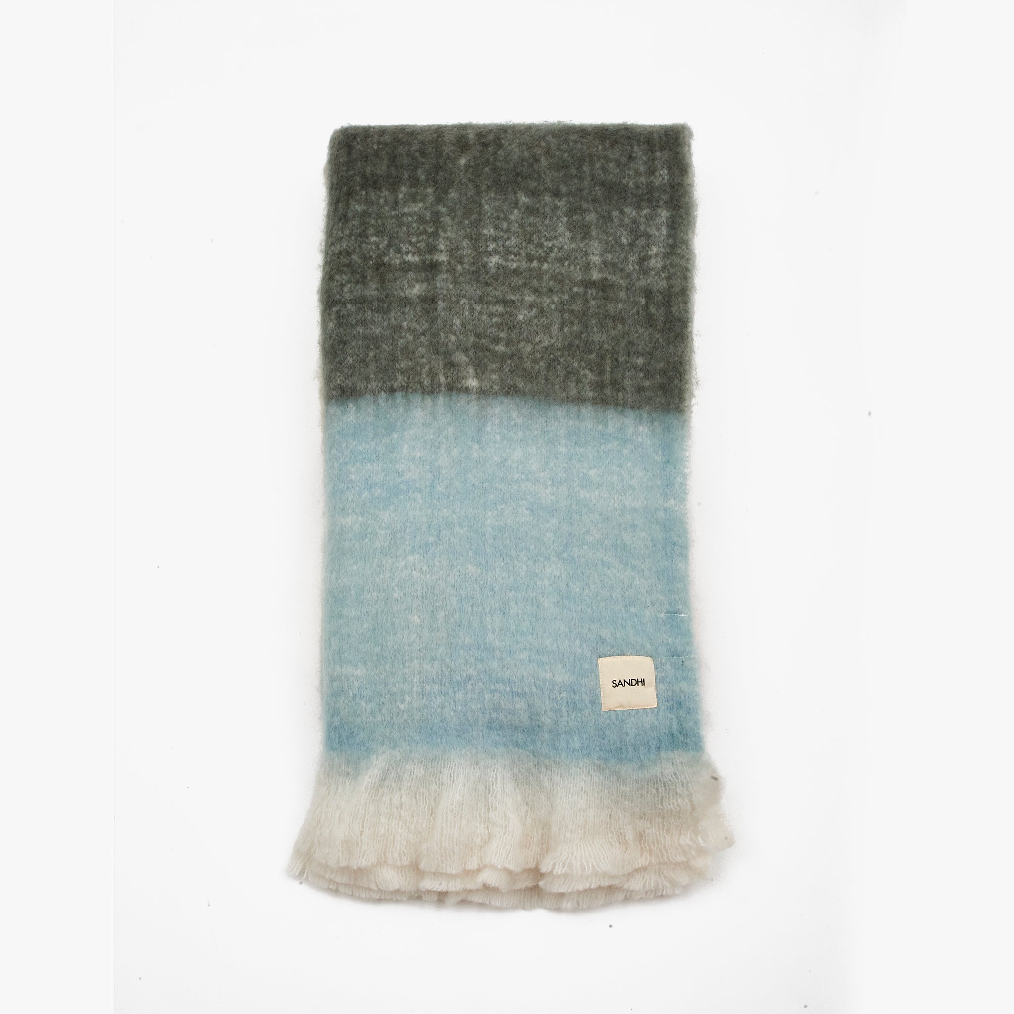 Grey Fleece Throw Blankets For Sofa | Sandhi