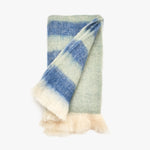 Blue and Green Throw Blanket | Sandhi