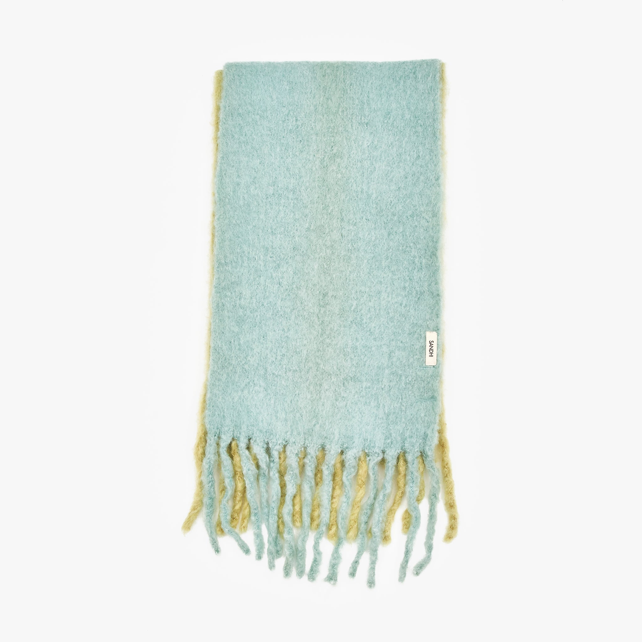 Blue and Green Scalf Winter Scarves | Sandhi