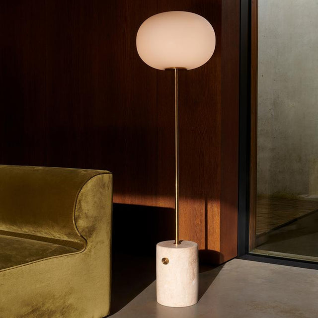 JWDA Floor Lamp with marble stone base