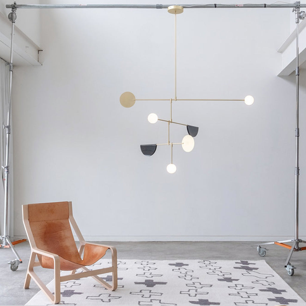 Canadian Designed Phase Chandelier Pendant by Anony