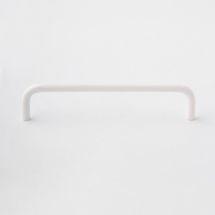 Powder Coated White Cabinet Handle made in Toronto. Modern hardware.