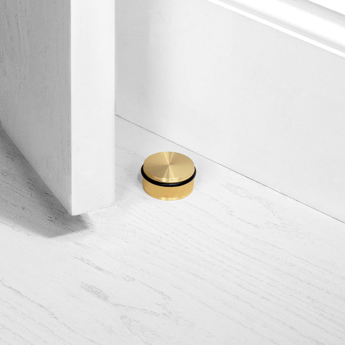 buster + punch black door stop floor mounted
