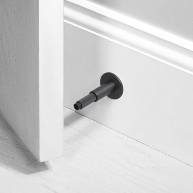 buster + punch black door stop wall mounted