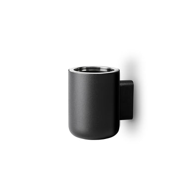 Menu Norm Copenhagen Toothbrush Holder Wall Mounted Black