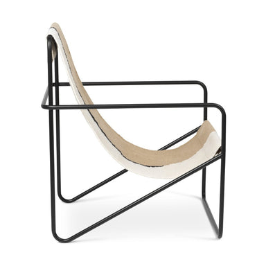 Black Soil Desert Lounge Chair