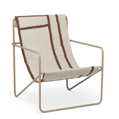 Cashmere Shapes Desert Lounge Chair