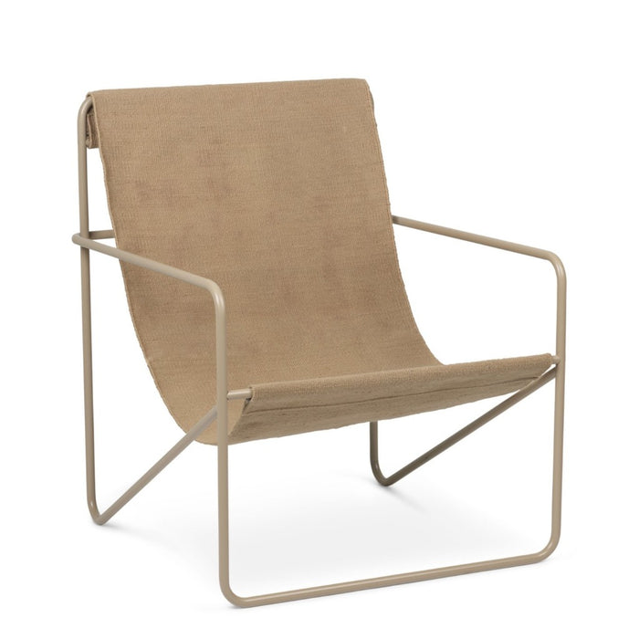 Cashmere Solid Desert Lounge Chair