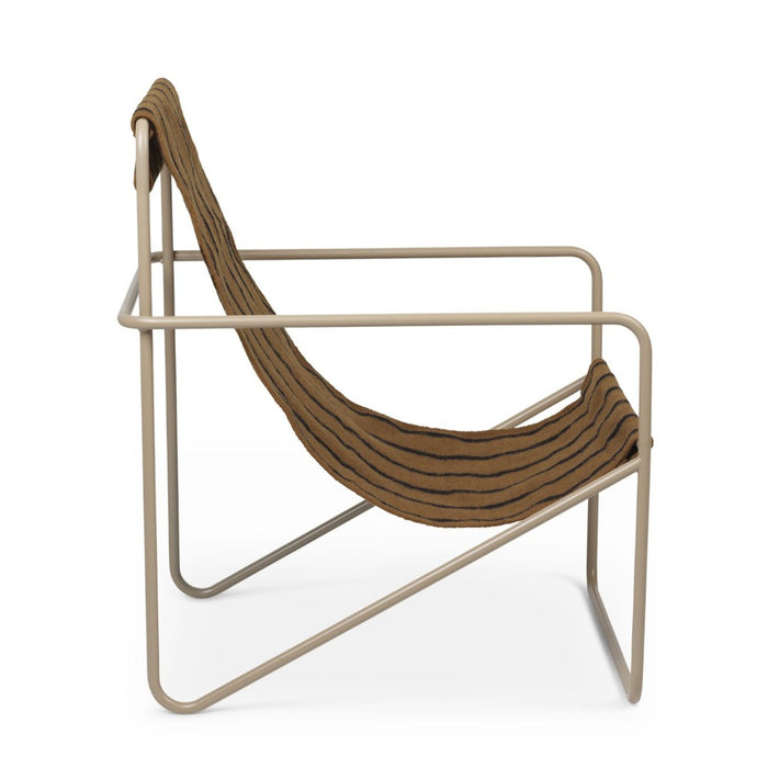 Cashmere Stripe Desert Lounge Chair