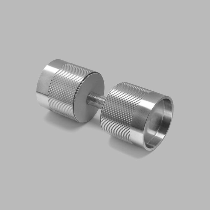 Minimal Glass Door Knob hardware from d line