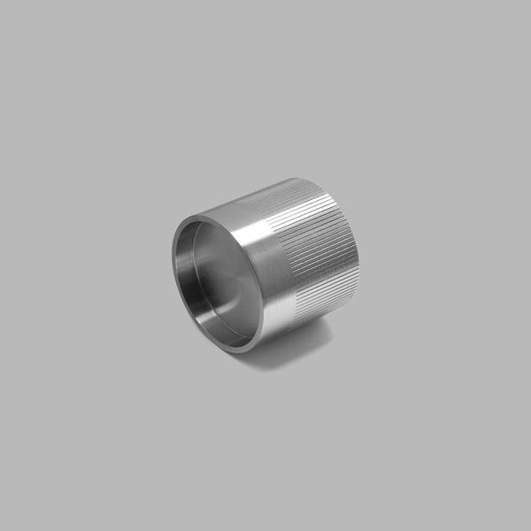 Knud Cylindrical Knob - Glass Door