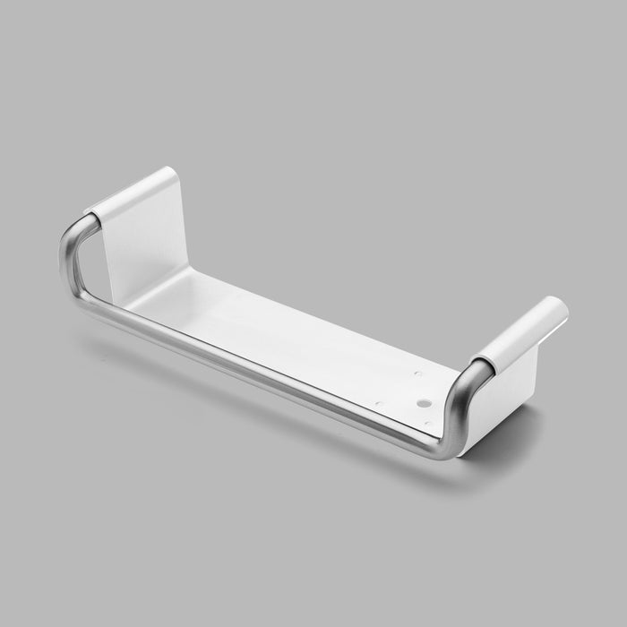 Part of the Sanitary Collection by d line, the Knud Shelf offers storage for the bathroom. Strong and sturdy, this shelf is suitable for both Commercial and Residential applications.