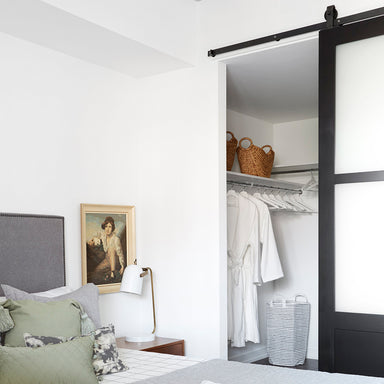 Black Barn Door Hardware