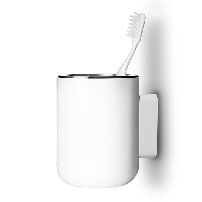 Menu Norm Copenhagen Toothbrush Holder Wall Mounted White