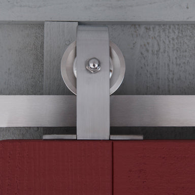 Modern Stainless Steel Barn Door Hardware made in Toronto