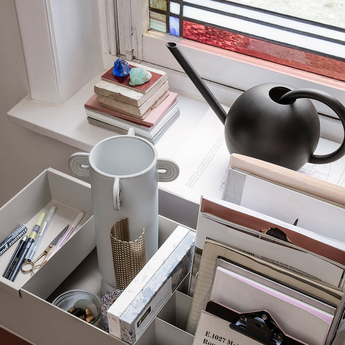 Orb Watering Can Black Ferm Living