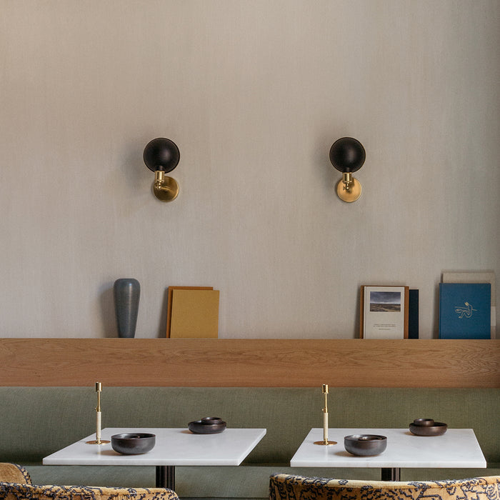 Walker Wall Lamp Designed by Søren Rose for Menu