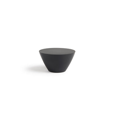 Modern Audrey Door Knob in Black Medium