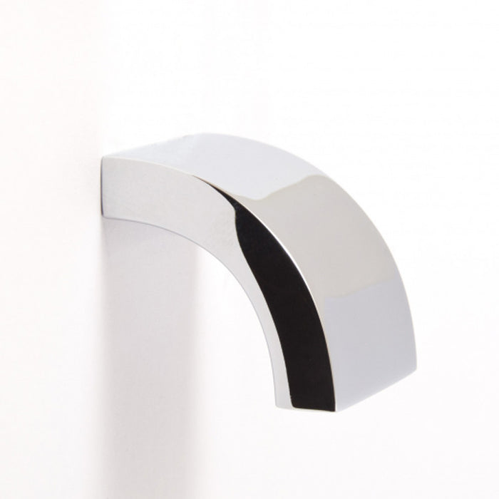 Chrome curve knob. Simple and elegant. Modern and contemporary.