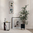 Bau Large Plant Pot in Black by Ferm Living