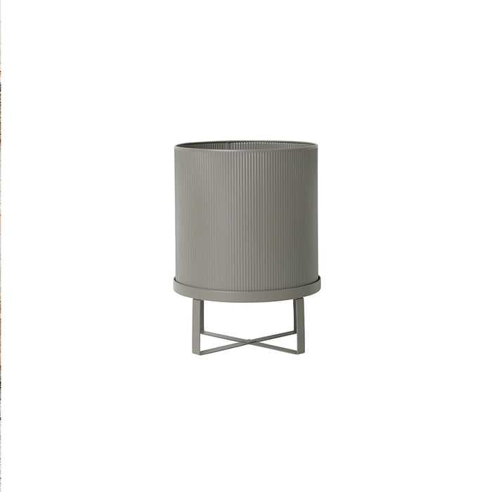 Bau Large Plant Pot in Light Grey by Ferm Living