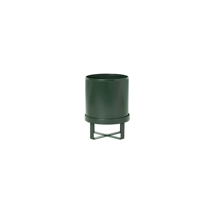 Bau Small Plant Pot in Deep Green by Ferm Living