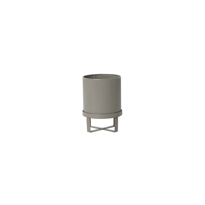 Bau Small Plant Pot in Light Grey by Ferm Living