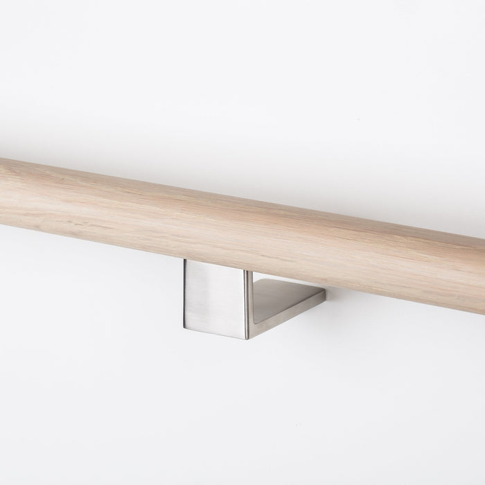 cast stainless steel and brass handrail brackets