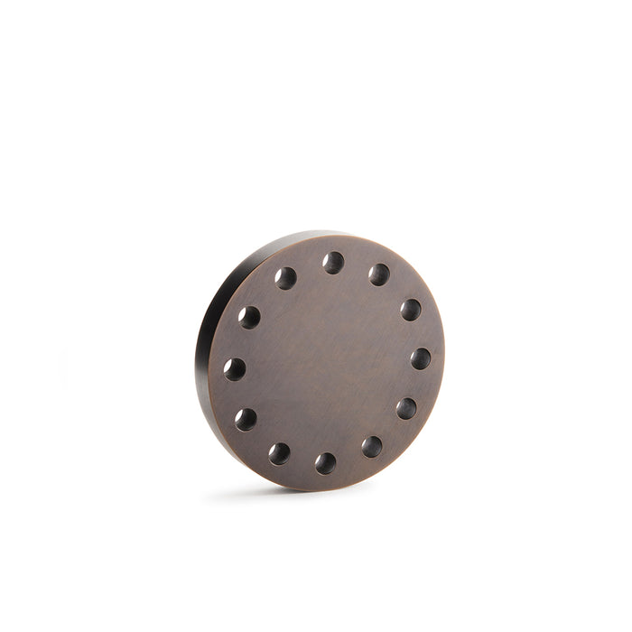 Refined Stardust Collection Door Knob in Bronze