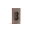 Elegant Stardust Collection Flush Pull in Bronze