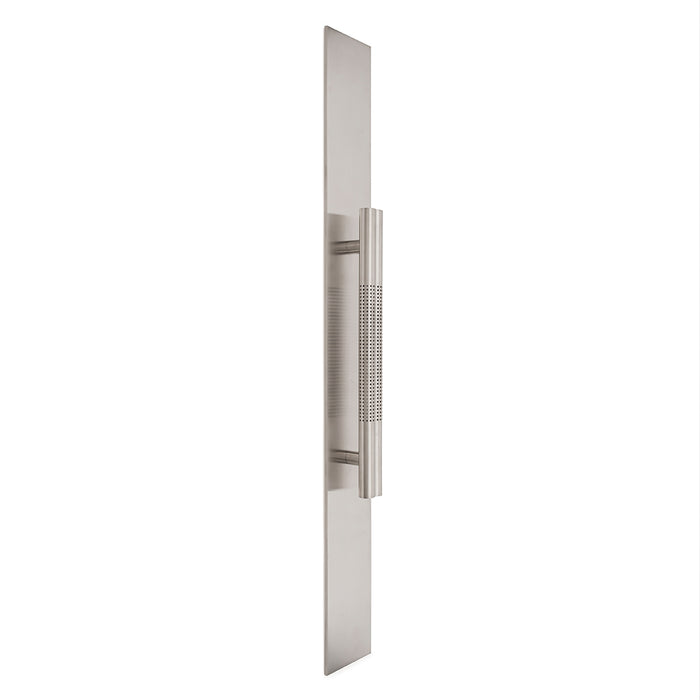 Sophisticated Stardust Collection Long Pull Handle in Nickel