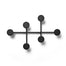 Black modern coat hanger rack. Designed by Afternoon for Menu.