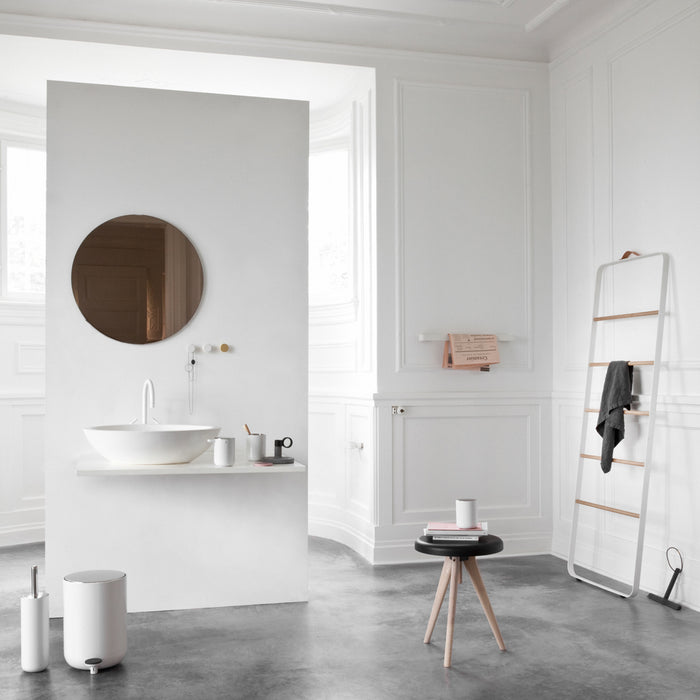 Designed for Menu, in Scandinavia, by Norm Architects,these bath items are available as a collection.