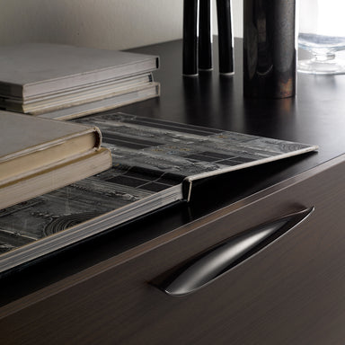 Fluid and minimal cabinet handles from Klodea