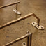 Elegant Brass Towel Bar