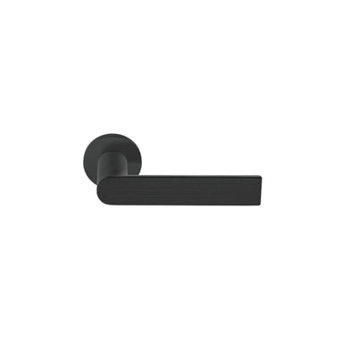 Modern Black Door Lever by Piet Boon for Formani