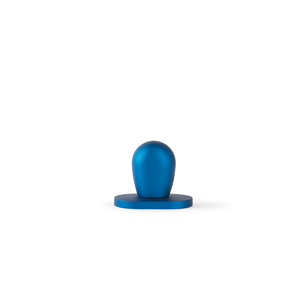 Rene Thumb Turn, Blue Anodized