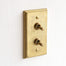 Designer Brass Light Switch Plate Covers made in Japan.