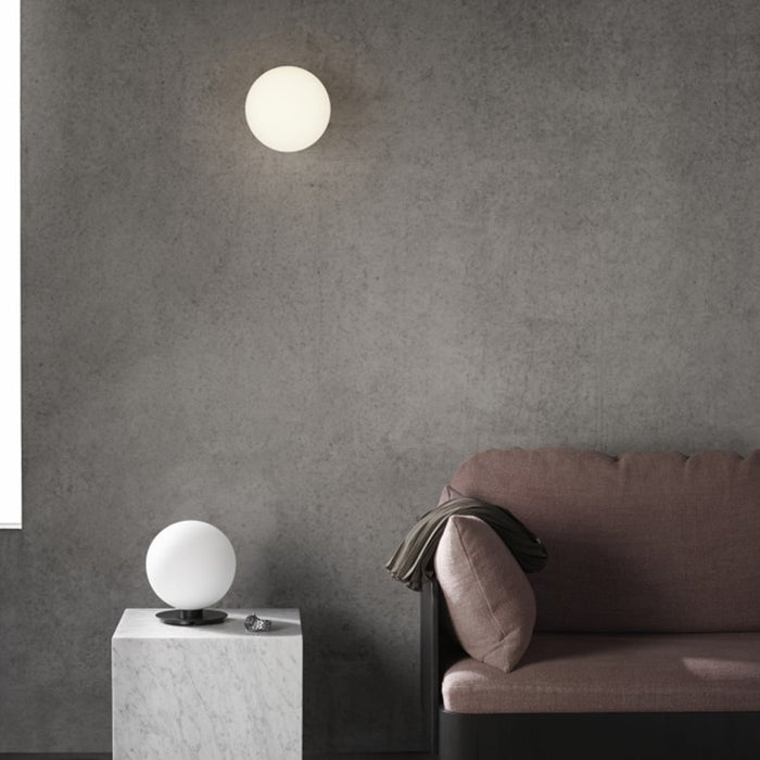 Minimal Marble Ceiling and Wall Lamp