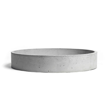 Simple and minimal concrete washbasin sink.