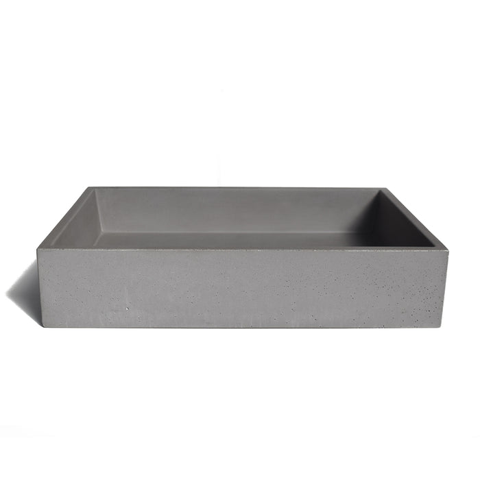 Minimal concrete sinks made in Greece.