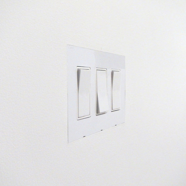 Flush Mount Wall Plate: Drywall