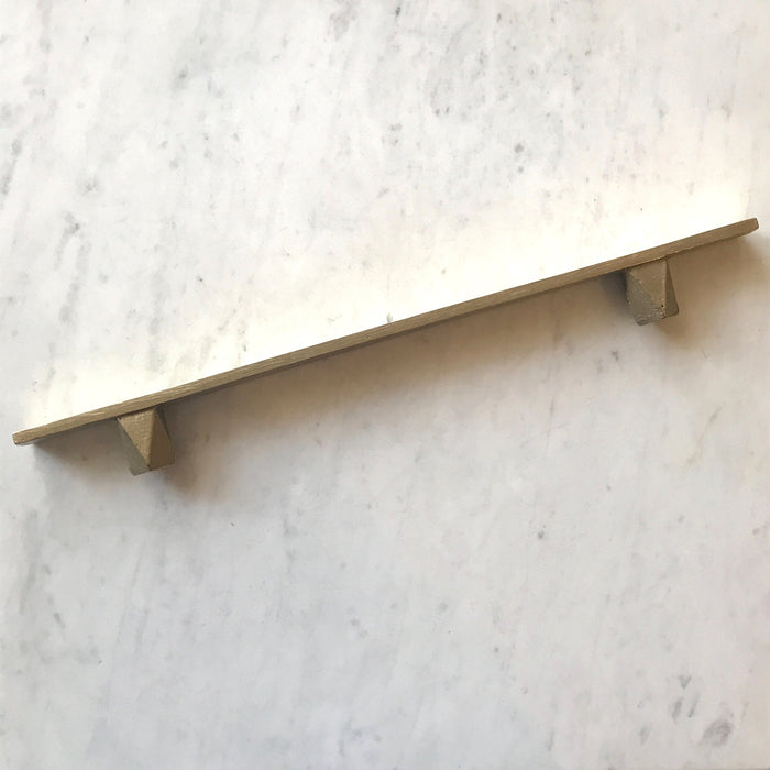 "12"" Cast Bronze Handles in the Geo series by contemporary hardware designer Shayne Fox. Made in Toronto."