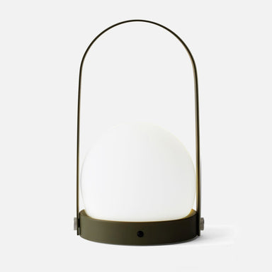 Portable LED Lamp by Menu in Olive
