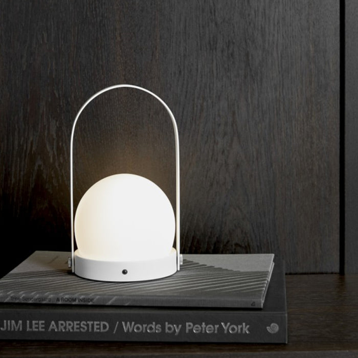 Portable LED Lamp by Menu in White