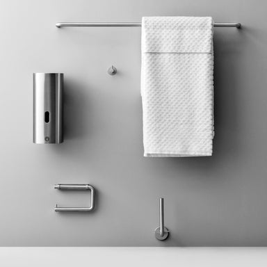 Part of a collection, the Knud Towel Bar is suitable for Residential or Commercial Applications.