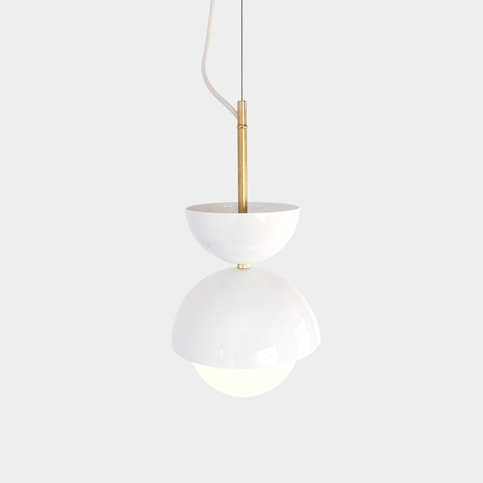 Unique Hemisphere Pendant Light and Planter by Object / Interface