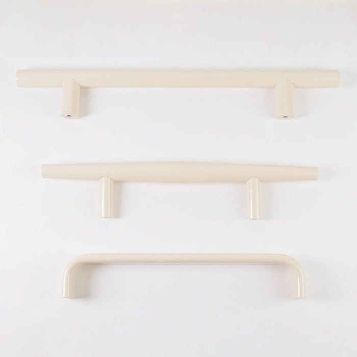 The Charlie Ivory Door Pull Collection comes in a variety of finishes and lengths and is made in Canada.