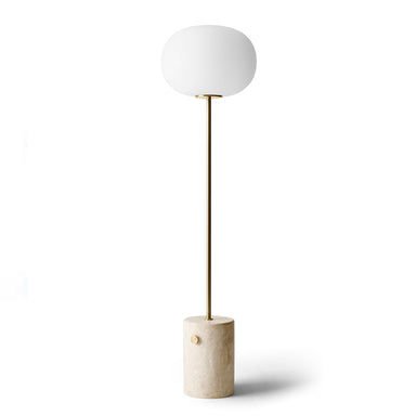Marble floor lamp by Menu